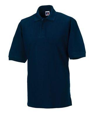 RUSSELL Herren Classic Cotton Polo Shirt kurzarm - XS S M L XL XXL 3XL 4XL (2)