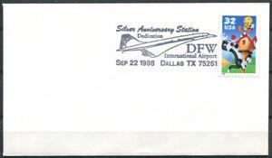 Stati-Uniti-1998-Primo-Giorno-100-DFW-Dallas