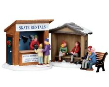 Lemax Skate Rentals, Weihnachtsdorf, Modellbau, Weihnachtsdeko
