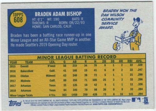 2019 Topps Heritage High Number Rookies YOU CHOOSE Complete Your Set