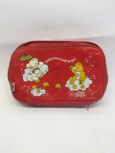 Details About Nice Vintage 1983 Care Bears Suitcase Travel Storage 16x11 Peter S Bag Corp Case
