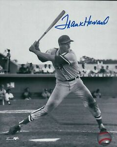 Frank-Howard-Signed-8X10-Photo-Autograph-Vintage-Black-amp-White-Auto-COA-Dodgers