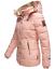Marikoo-Muy-Caliente-Chaqueta-de-Invierno-para-Mujer-Abrigo-Parka-Guateada-Nekoo miniatura 9