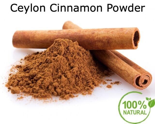 CEYLON CINNAMON POWDER - Fresh Pure Organic True Ceylon Low Coumarine Not Cassia