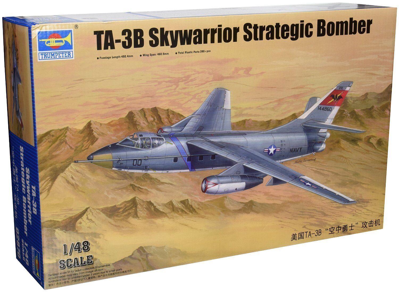 para proporcionarle una compra en línea agradable Trumpeter Trumpeter Trumpeter - Avion Bombardero TA-3B Skywarrior S  .Escala 1 48. Referencia 542870  popular