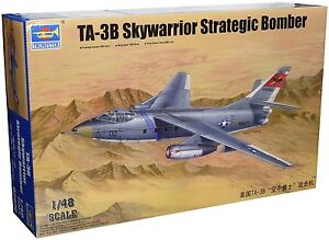 Trumpeter-Bombardier-Americain-TA-3B-Skywarrior-S-Echelle-1-48-Reference-542870