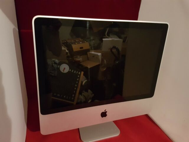 "Apple iMac 20"" A1224 2.4GHz Intel Core 2 Duo 2 Go Ram 320 Go Disque dur 10.11 MB323LL/A"