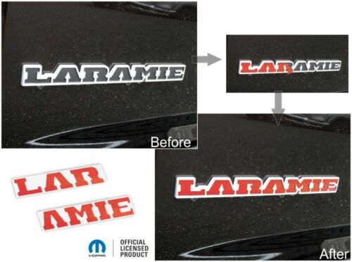 Badge Inlay Decal Sticker 2019 Ram LARAMIE