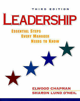 Leadership: Essential Steps Every Manager Needs to Know (NetEffect Series), Chap
