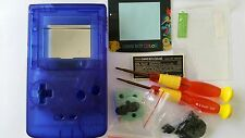 HOUSING POUR GAMEBOY COLOR POKEMON CLEAR BLUE NEW