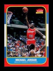 MICHAEL-JORDAN-1996-97-Fleer-DECADE-OF-EXCELLENCE-Rookie-Card-NM-MT