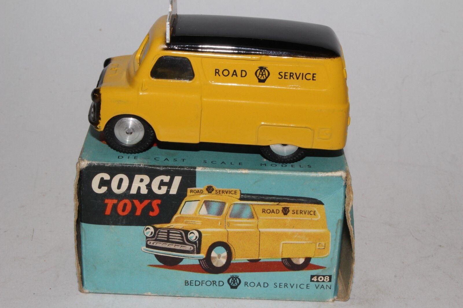 CORGI TOYS,  408, années 1950 Bedford Service Routier Camion, coffret d'origine