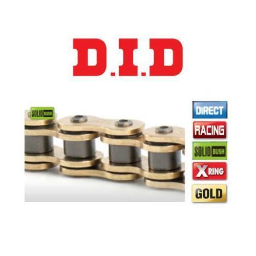 DID Gold HD X-Ring Motorcycle Chain 520VX3 116 fits Honda CR500 RG,RH 86-87