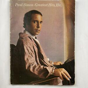 Paul Simon Greatest Hits Songbook Sheet Music Piano Guitar Chords Lyrics