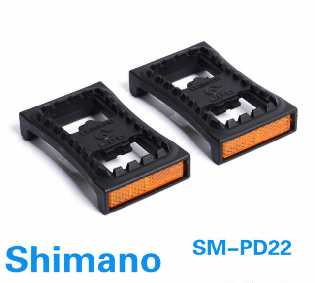1 pair SM-PD22 Fedals Pedals Cleat Flat Pedals For M520 M540 M780 M980