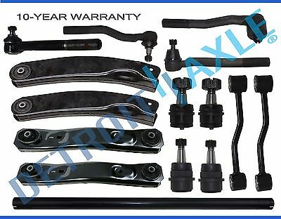 New 15pc Complete Front Suspension Kit for 1999-2004 Jeep Grand Cherokee