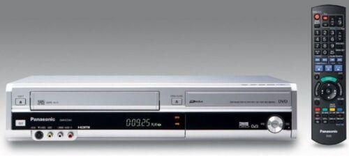 1 of 1 - Panasonic DMR-EZ47V Silver DVD & VHS Recorder Combo - Freeview - HDMI
