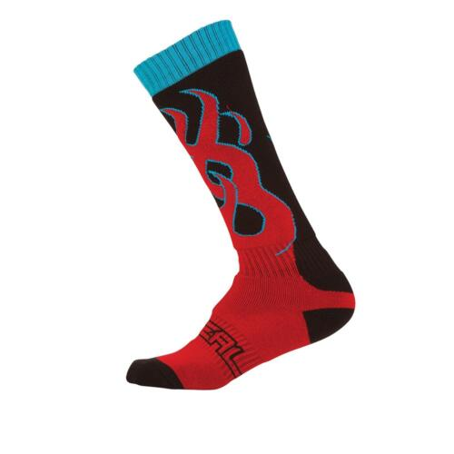 ONEAL Pro MX Calze Torch FIAMME MOTO CROSS ENDURO MOUNTAIN BIKE SOCK bicicletta