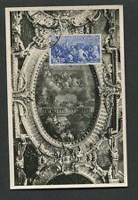 ITALIA MK 1947 HISTORY VENEZIA FRESKO MAXIMUMKARTE CARTE MAXIMUM CARD MC d8927