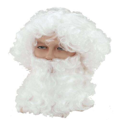 Dickes Santa Claus Weihnachtsmann Kostüm Set komplett 5-tlg XL Nikolaus
