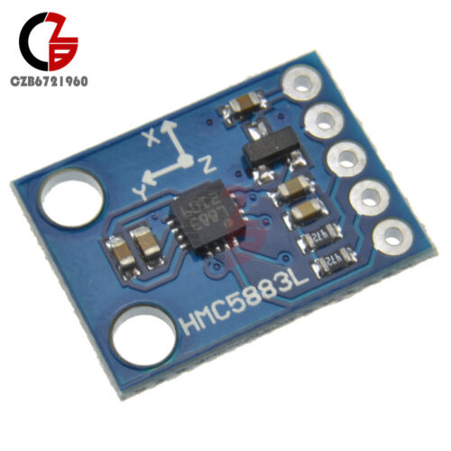 IIC 3-5V Original HMC5883L GY-273 3-Axis Compass Magnetometer Sensor for Arduino