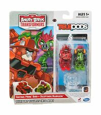 Angry Birds Transformers Telepods Sentinel Prime Bird vs. Decep... Free Shipping