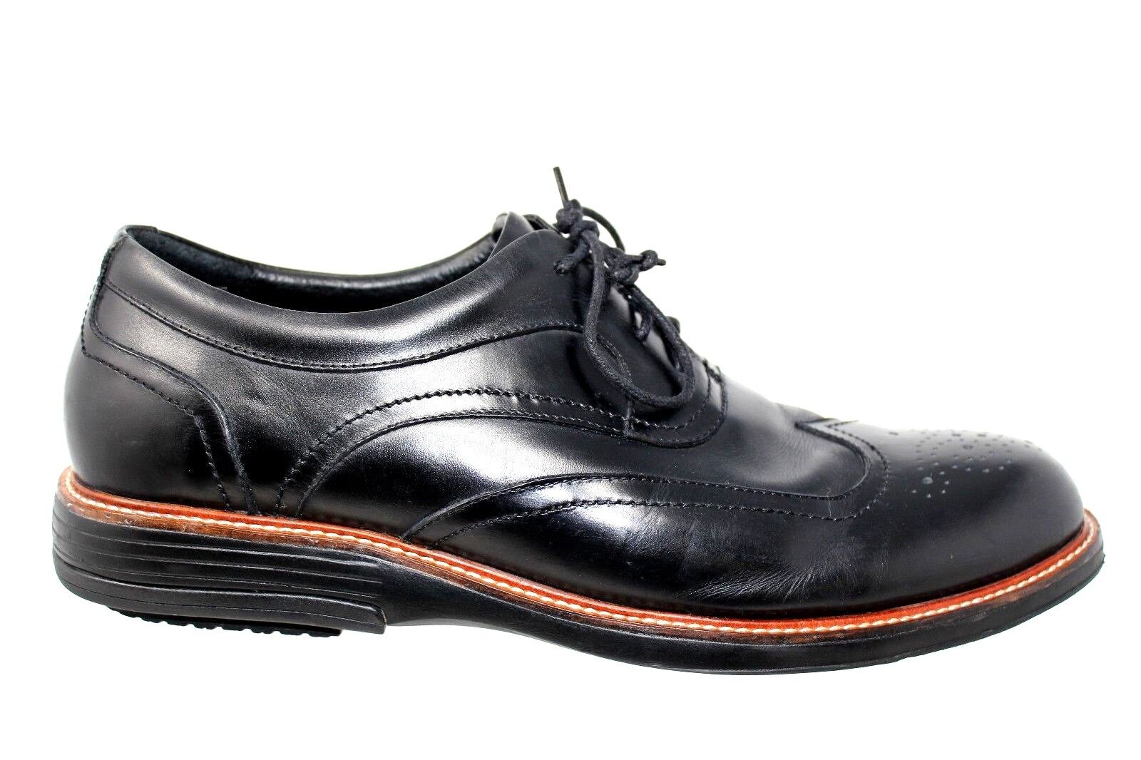 Gravity Defyer Windsor Full Brogue Wingtip Leather Dress Oxford Oxford Oxford schuhe Größe 15M a0a11a