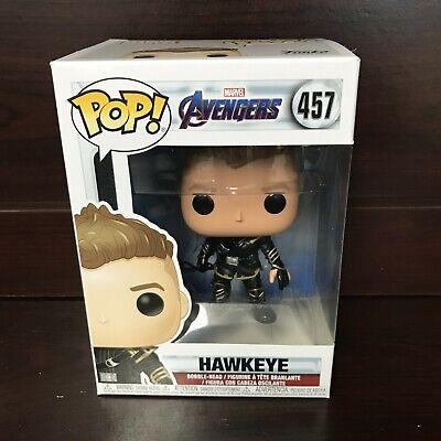"""Funko Pop Marvel Avengers Endgame : HAWKEYE #457 Vinyl Figure """"MINT"""" -IN STOCK-"""