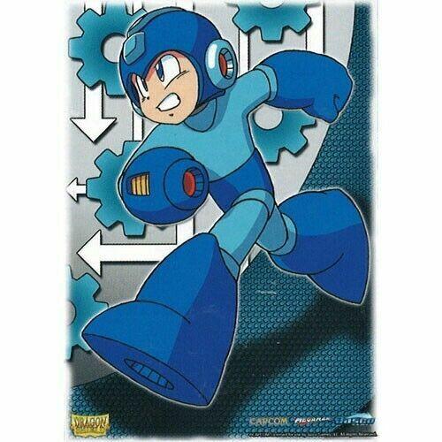 Mega Man Standard DS 100 Art Dragon Shield DP Art Sleeves Classic