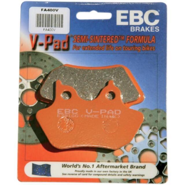 EBC Brakes FA229V Semi Sintered Disc Brake Pad