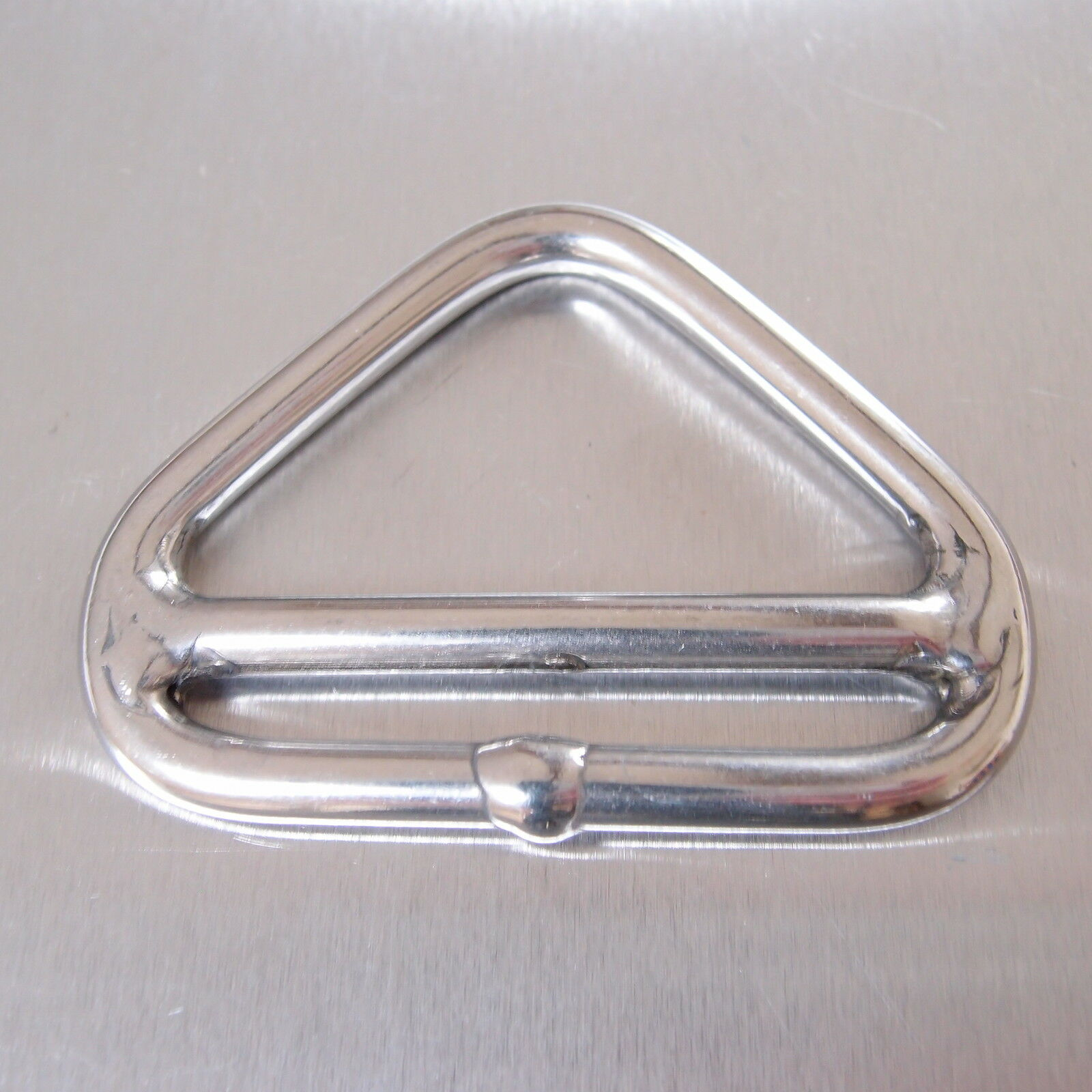 Stainless Steel 316 Double Bar Triangular Link Ring 8mm x 50mm