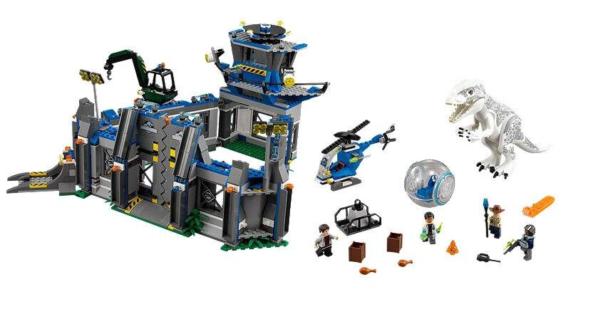 Scellé LEGO 75919 JURASSIC WORLD PARK indominus Rex Breakout Dinosaures retraité
