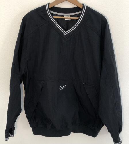 Vintage 90s Nike Center Check Pullover Windbreaker