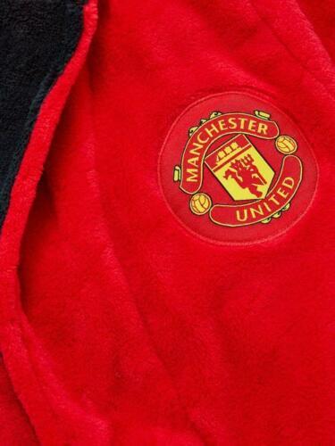 boys child robe Childrens bathrobe Manchester Man United kids dressing gown