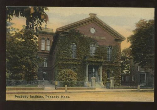 SCHOOL COLLEGE c191020 PPC USAPEABODY INSTITUTE MASS.