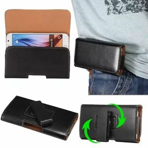 Fashion-PU-Leather-Horizontal-Vertival-Belt-Clip-Holster-Pouch-Case-Cover-Pouch