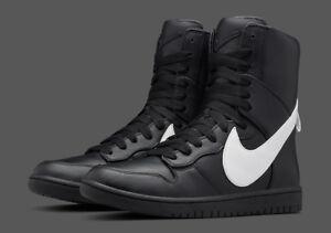 Nike-Dunk-Lux-RT-neuf-Riccardo-Tisci-noir-Hommes-Sneaker-841647-010-taille-37-5