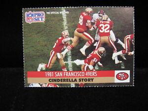 1991-Joe-Montana-49ers-034-Cinderella-Story-034-Pro-Set-Card-8-G1389