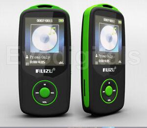 GREEN-RUIZU-4GB-BLUETOOTH-SPORTS-LOSSLESS-MP3-MP4-PLAYER-MUSIC-VIDEO-FM-TUNER