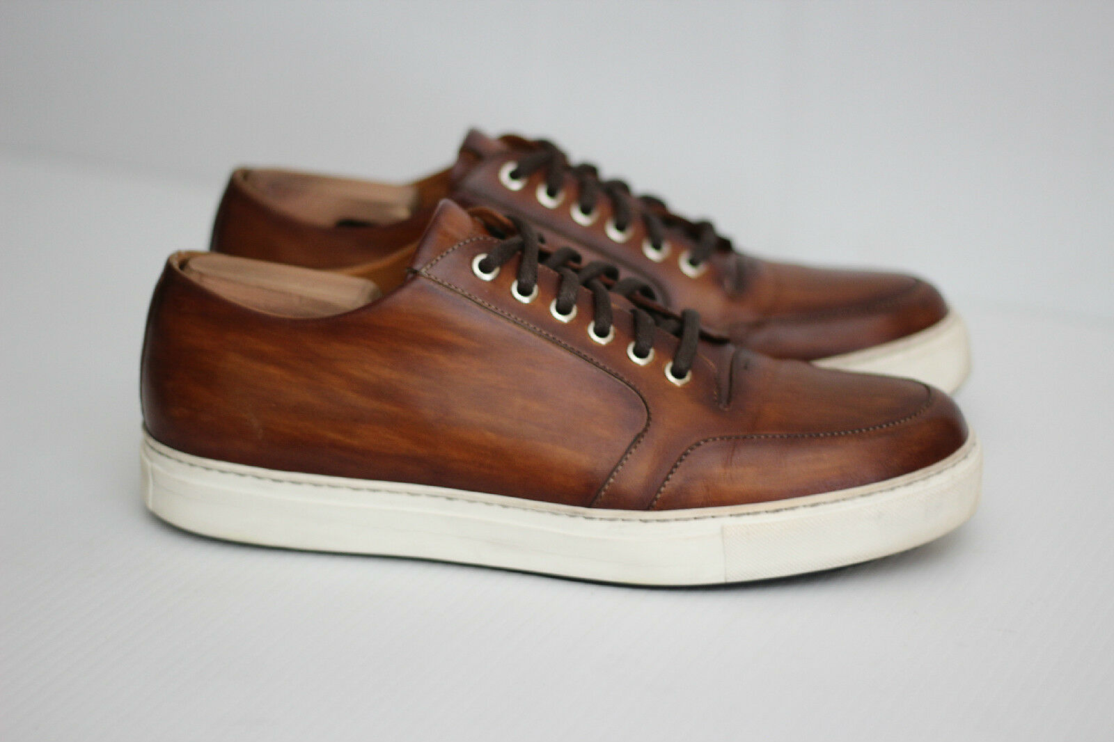 Magnanni 'Roberto'  Cuero Up Brown Pelle Lace Up Cuero Shoes 10 M (W93) 3e488a