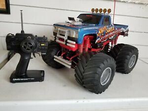 Vintage 1 10 Tamiya Clodbuster 4x4 Rc Monster Truck Ebay
