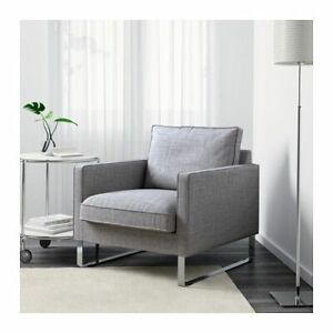 Enjoyable Details About New Ikea Mellby Chair Armchair Cover Slipcover Isunda Gray Beutiful Home Inspiration Cosmmahrainfo
