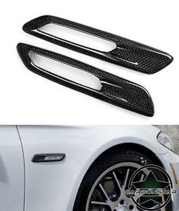 Cstar-Carbon-ABS-Seitenblinker-Abdeckung-Cover-Blinker-passend-fuer-BMW-F10-F11