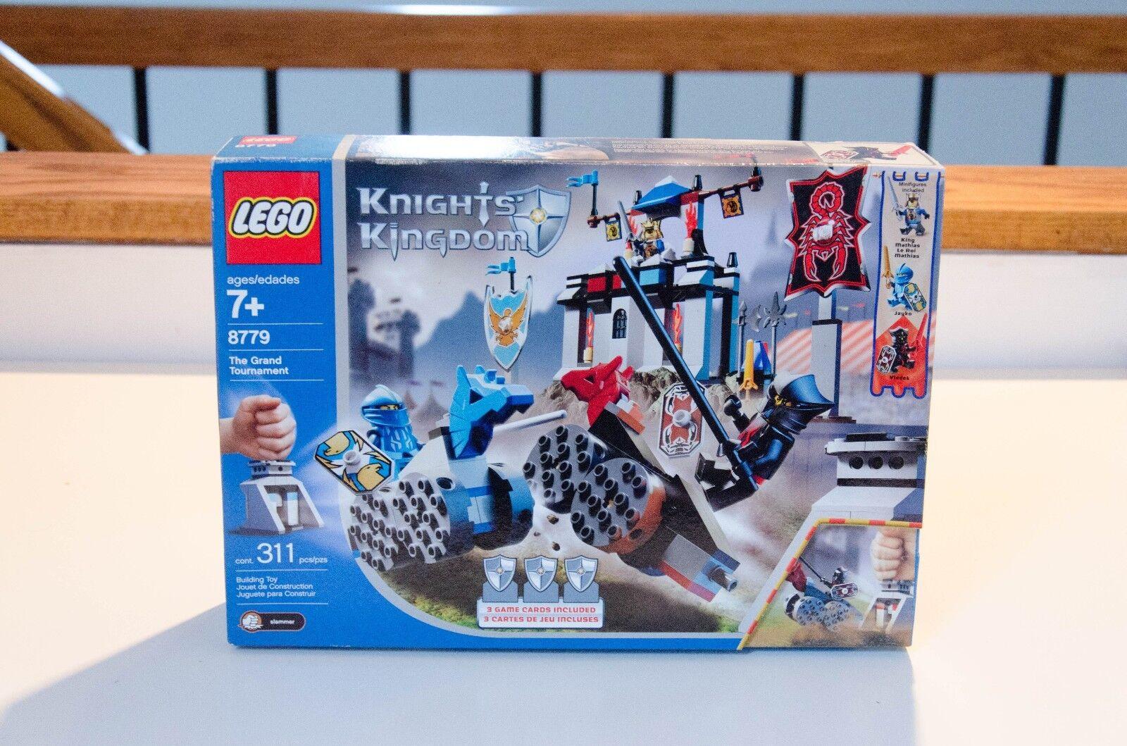 LEGO Castle Knights' Kingdom Tournament II The Grand Tournament Kingdom (8779) - Sealed f64173