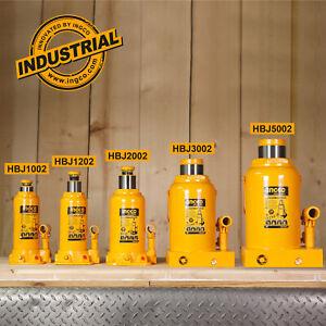 INGCO-10-12-20-30-50-Ton-Bottle-Jack-Hydraulic-Lifter-Car-Caravan-4WD-Heavy-Duty