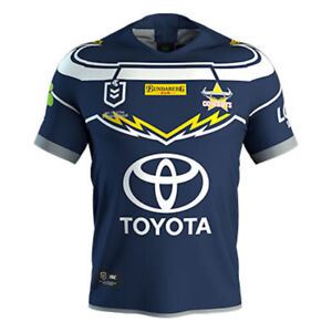 Image is loading North-Queensland-Cowboys-2019-Home-Jersey-Mens-Womens- fcd5d5e31