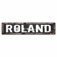 SFND0223 ROLAND MAN CAVE Street Chic Sign Home man cave Decor Gift