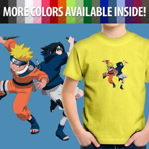 Toddler-Kids-Tee-Youth-T-Shirt-Naruto-Uzumaki-Sasuke-Uchiha-Anime-Manga-Ninja