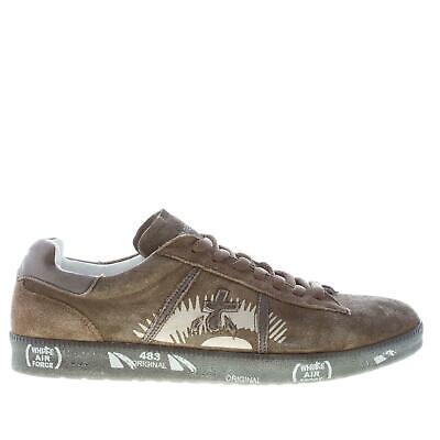 PREMIATA men shoes Military green suede Andy 3328 sneaker | eBay