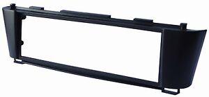 Adaptateur-Autoradio-Facade-Cadre-Reducteur-noir-pour-Nissan-Almera-N16-2000-06